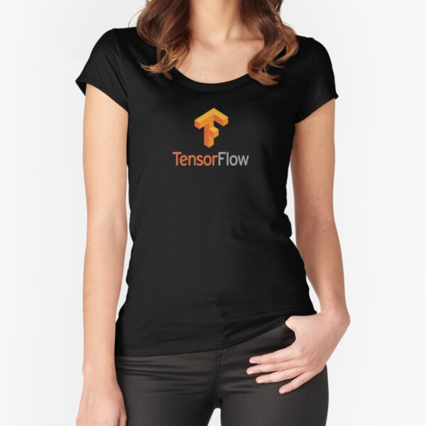 tensorflow Fitted Scoop T-Shirt