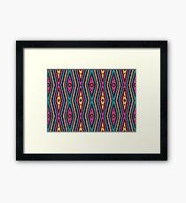 Bardi Dancers - jalalay season (spring) #1 Framed Print