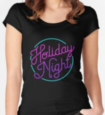 (SNSD) Girls Generation - Holiday Night Women's Fitted Scoop T-Shirt
