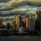 Big City Skyline by Barry W  King
