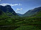 Glencoe, Scotland by David Rankin