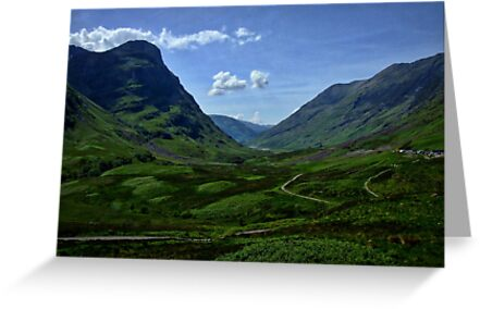 Glencoe, Scotland by David Rankin