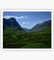 Glencoe, Scotland Sticker