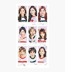 TWICE - CECI // Group Photographic Print