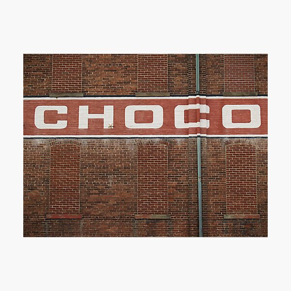 Wilbur Chocolate Factory, Lititz PA Photographic Print
