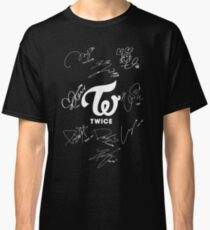 TWICE - Signed With Logo Classic T-Shirt