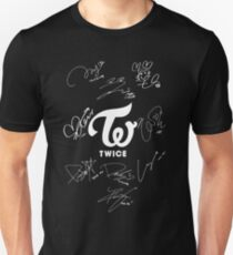 TWICE - Signed With Logo Unisex T-Shirt