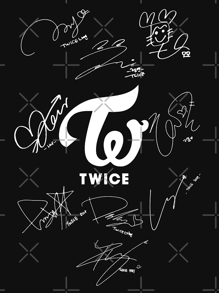 TWICE - Signed With Logo by Red-One48