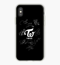 TWICE - Signed With Logo iPhone Case