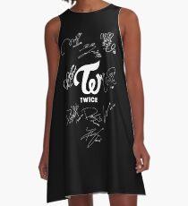 TWICE - Signed With Logo A-Line Dress