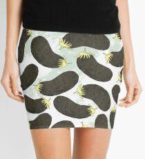 Aubergines Mini Skirt