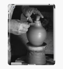 Potter at work iPad Case/Skin