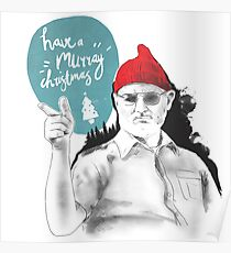 Have a MURRAY Christmas Poster
