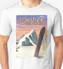 Whistler British Columbia Snowboarding T-Shirt