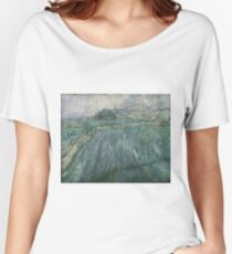 Vincent van Gogh, Dutch, 1853-1890 'Rain' Women's Relaxed Fit T-Shirt