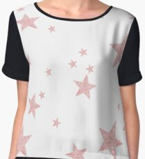 stars rose Women's Chiffon Top