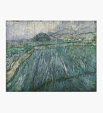 Vincent van Gogh, Dutch, 1853-1890 'Rain' Photographic Print
