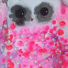 Pink Owl by Julie  Sutherland