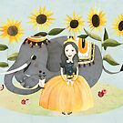 Princess and Elephant by Judith Loske