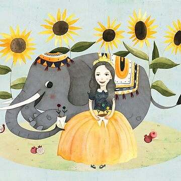 Princess and Elephant by Judith-Loske