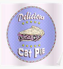 Cat Pie Poster