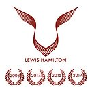 Lewis Hamilton the 4 times world champions by david-satrio