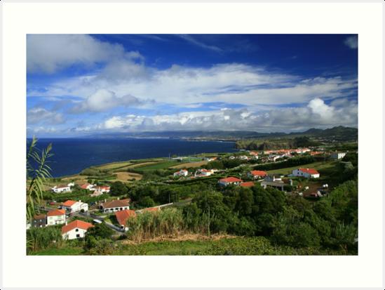 Sao Miguel, Azores by Gaspar Avila