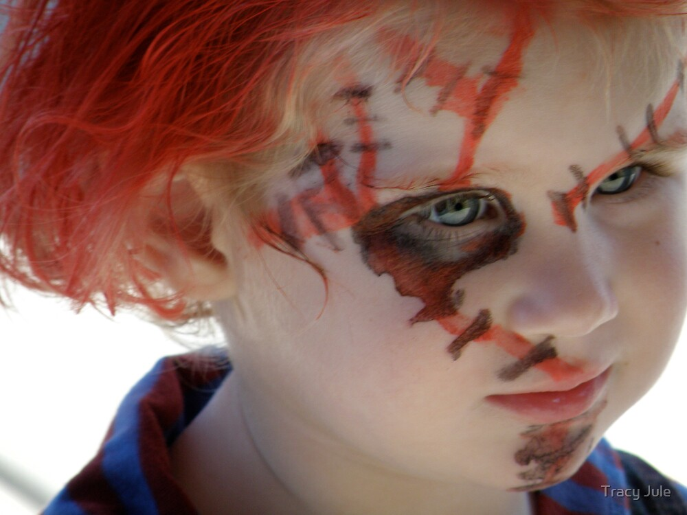 Childhood Chucky  by Tracy Jule