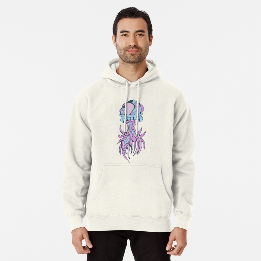 Jellyfish inspiration Pullover Hoodie