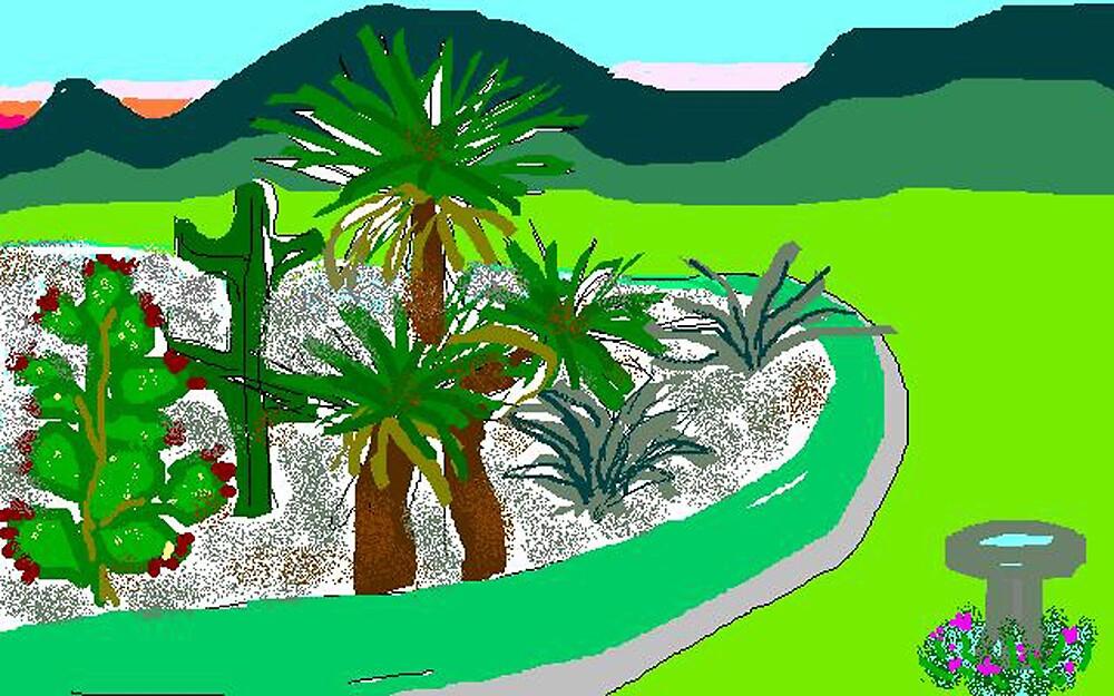 Cactus Garden by Carole Boyd