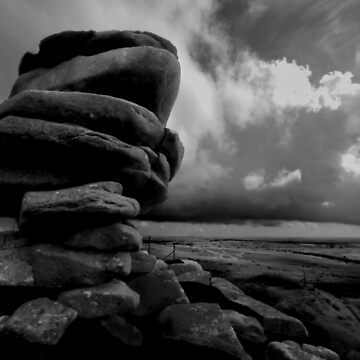 The Cheesewring, Bodmin Moor by purpleelephant