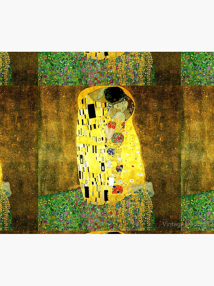 The Kiss by Gustav Klimt by Geekimpact