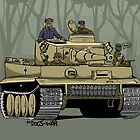 The Dogs of War: Tiger Tank by Chris Jackson