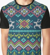 Deer and forest ornament Graphic T-Shirt