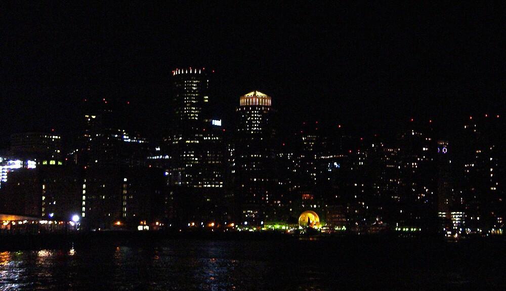 Boston Lights by marreah
