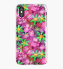 Butterflies and Flowers Shabby Chic Watercolour Painting iPhone Case/Skin