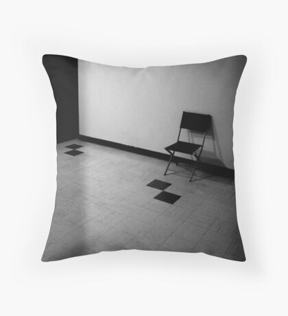 u said u needed your space Throw Pillow