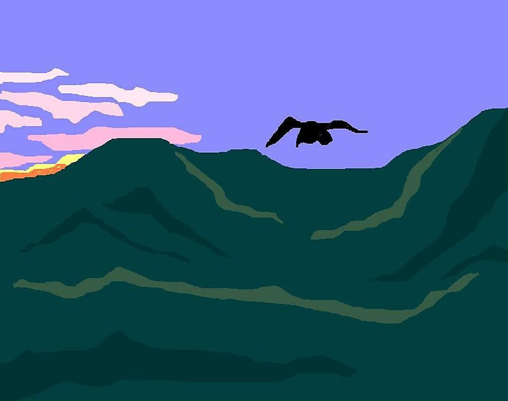Flying Inland by Carole Boyd