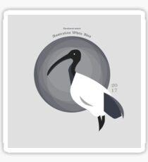 Australian White Ibis - Bin Chicken Sticker