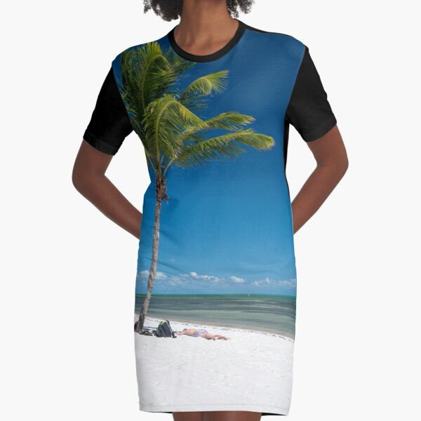 Key West Graphic T-Shirt Dress
