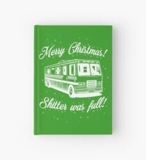 National Lampoons Christmas  - Shitter Was Full (Green) Hardcover Journal