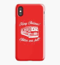 National Lampoons Christmas  - Shitter Was Full (Red) iPhone Case
