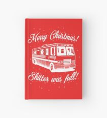 National Lampoons Christmas  - Shitter Was Full (Red) Hardcover Journal