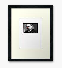 Louie Clown Framed Print