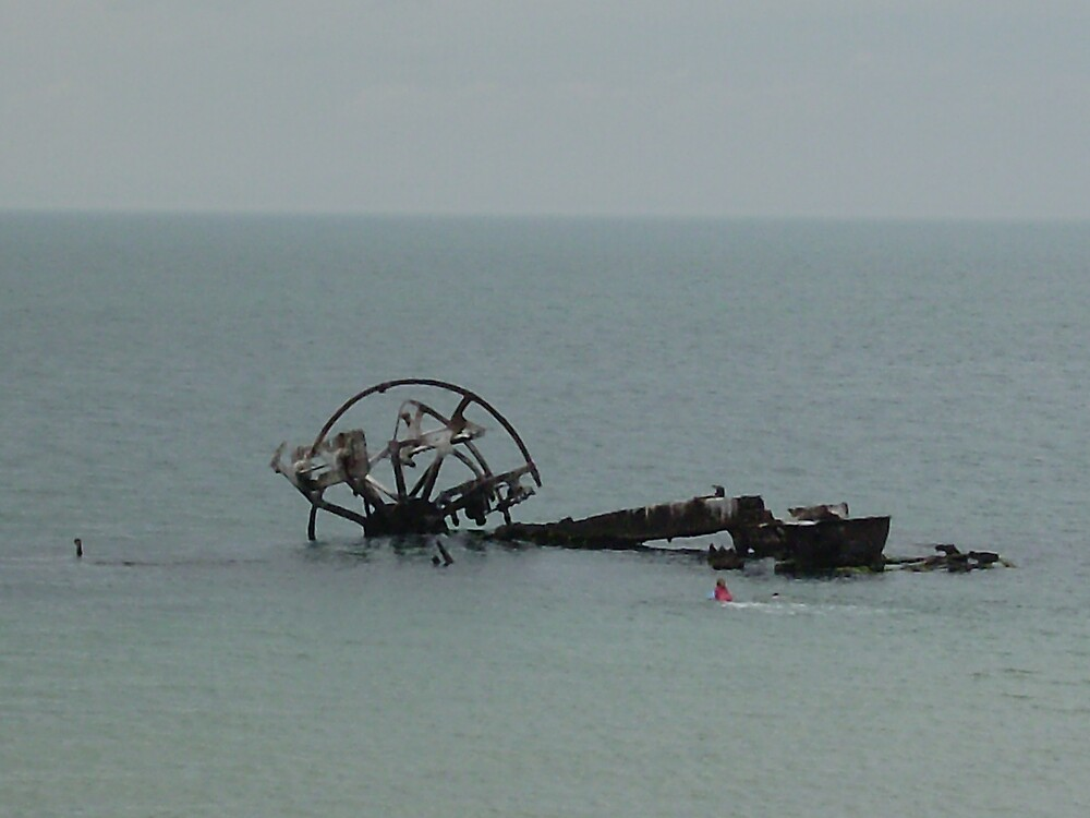 Indented Heads Ozone Shipwreck,Bellarine Peninsular, VIC by mariajd