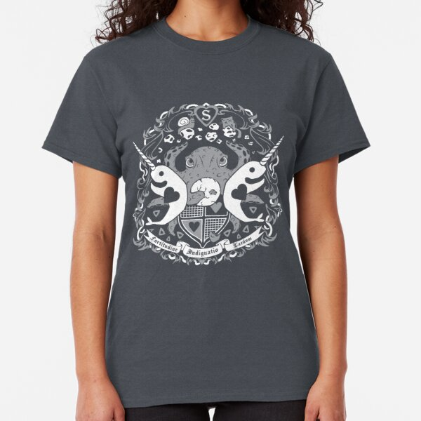 STARWHAL Crest - White Classic T-Shirt