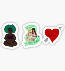 Body Positive Stickers! Sticker