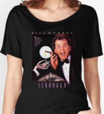 Scrooged - Bill Murray  Women's Relaxed Fit T-Shirt