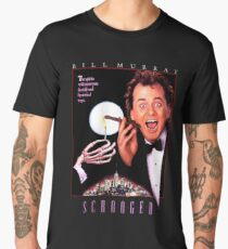 Scrooged - Bill Murray  Men's Premium T-Shirt
