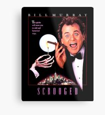 Scrooged - Bill Murray  Metal Print